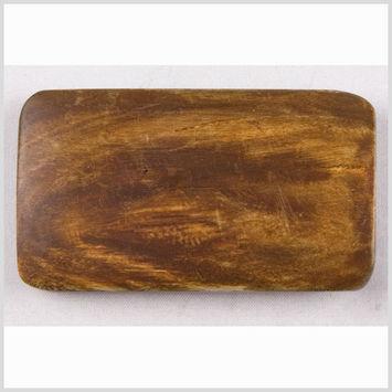 Dark Brown Horn Coat Button - 94L/60mm