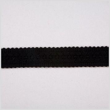 3 Black Gimp Braid