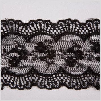 3.25 Black Sheer Lace
