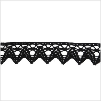 1 Black Clunny Lace