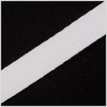1 1/2 White Cotton Twill Tape