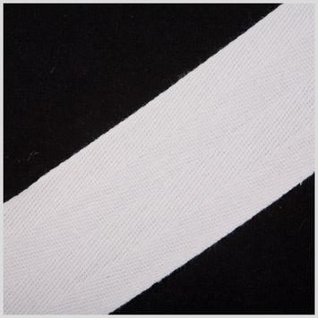 2 White Cotton Twill Tape