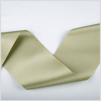 3.75 Sea Green Double Face French Satin Ribbon