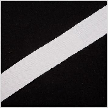 3/4 White Cotton Twill Tape