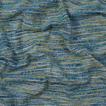 British Imported Sky Chenille Tweed
