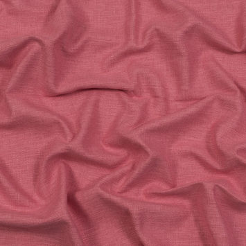 British Imported Blush Polyester and Cotton Woven
