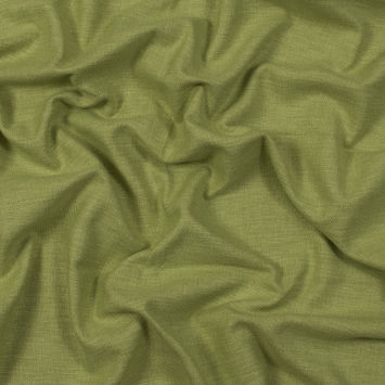 British Imported Grass Polyester and Cotton Woven