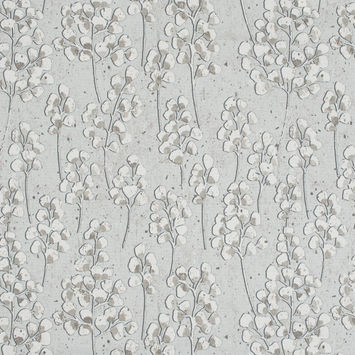 British Imported Linen Pussy Willow Printed Cotton Canvas