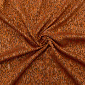 British Imported Rust Luminous Jacquard-AWG1630-10