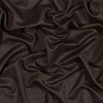 Cocoa Brown Lightweight Wool Suiting