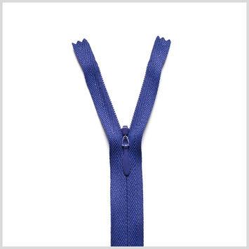 866 Aubergine 24 Invisible Zipper