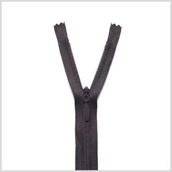 916 Pale Black 24 Invisible Zipper