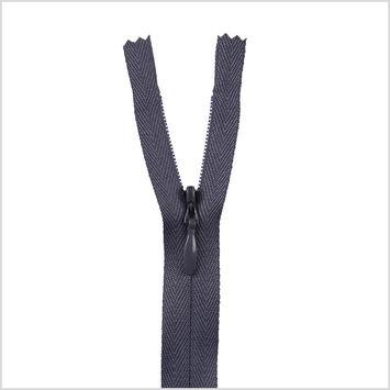 308 Blue Gray 9 Invisible Zipper
