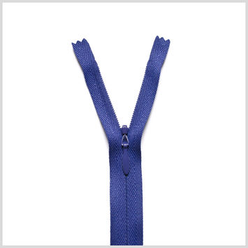 866 Aubergine 9 Invisible Zipper