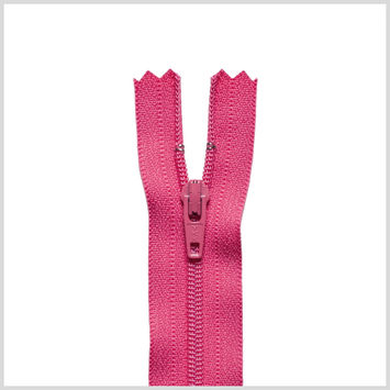 516 Fuchsia 9 Regular Zipper