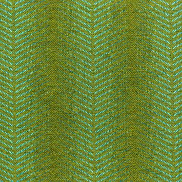 Sunbrella Perception Treetop Two-Tone Chevron Upholstery Woven