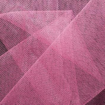 Dusty Rose Diamond Nylon Net Tulle