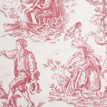 English Rose Cotton Toile