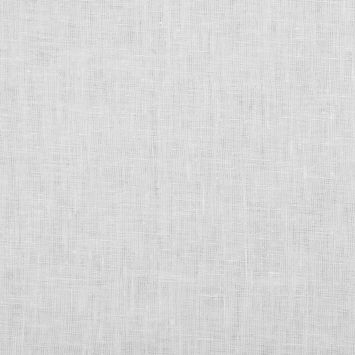 White Woven Linen Suiting