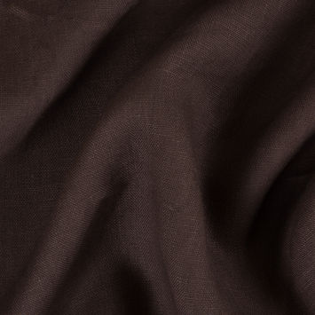 Brown Woven Linen Suiting