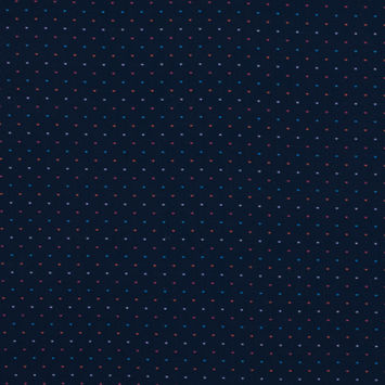 Navy Luxury Cotton Shirting with Multicolor Spots