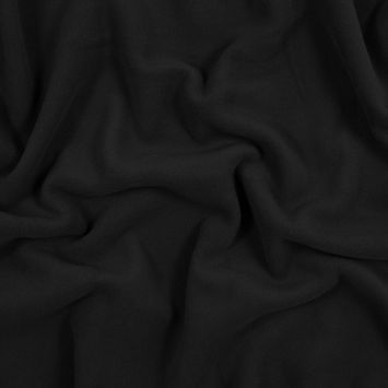 Black No Pill Polyester Fleece