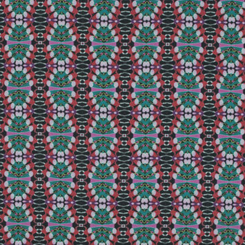 Mood Exclusive Penny Arcade Red and Green Cotton Poplin