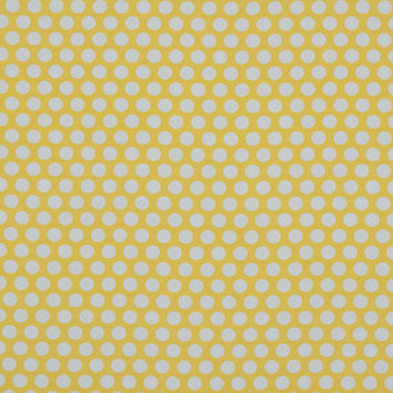 Mood Exclusive Dipping Dots Yellow Cotton Poplin