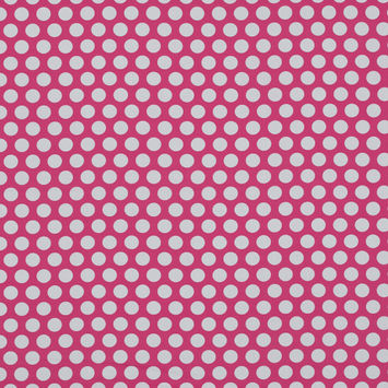 Mood Exclusive Dipping Dots Pink Cotton Poplin