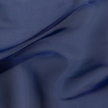Stark Royal Blue Iridescent Organza