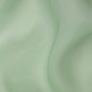 Luminous Mist Green Semi-Sheer Bridal Mikado