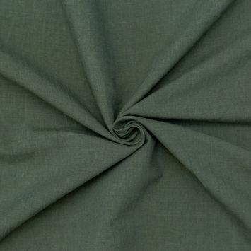 Four Leaf Clover Green Cotton Poplin