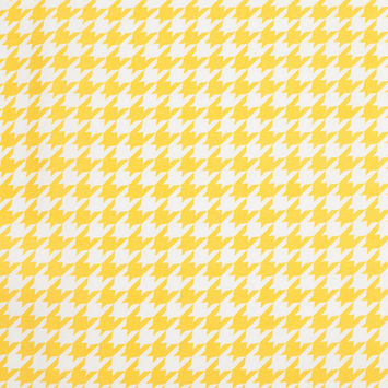 Spectra Yellow Houndstooth Satin Faced Twill