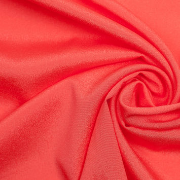 Emberglow Mechanical Stretch Polyester Crepe de Chine