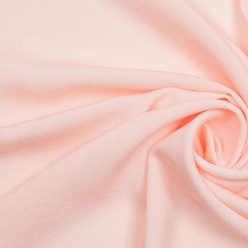 Blush Mechanical Stretch Polyester Crepe de Chine