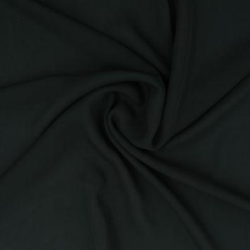 Forest Green Silk Georgette