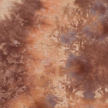 Blaze Tie Dye Stretch Polyester Tissue Weight Jersey