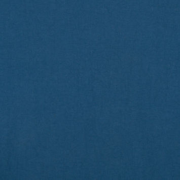 Stellar Blue Solid Polyester Faille