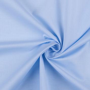Light Blue Doeskin Fine Pima Cotton Twill