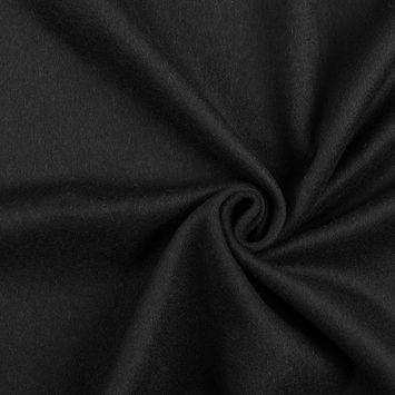 Burberry Black Single-Faced Wool Fleece
