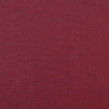 Garnet/Black Shimmering Double Faced Cotton Woven