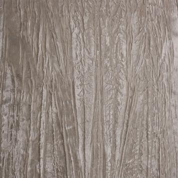 Ivory Rayon Crushed Velvet