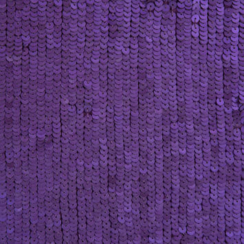 Phillip Lim Royal Purple Baby Sequined Silk Georgette