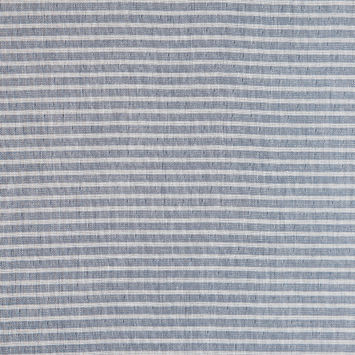 Rag & Bone Indigo/White Striped Cotton Double Cloth