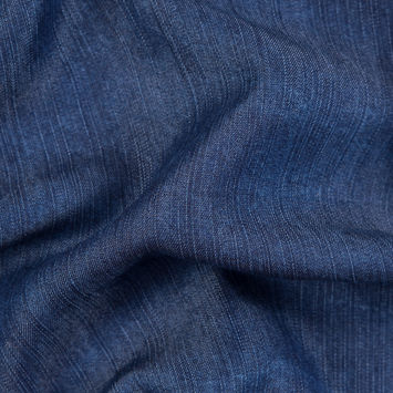 6.5oz Blue Textured Tencel Denim