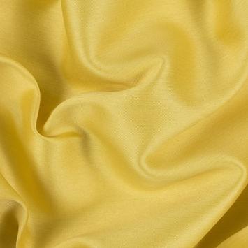 Oscar de la Renta Lemon Silk Woven