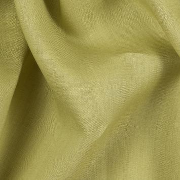 Light Moss Medium-Weight Linen