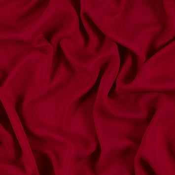 Red Solid Viscose Batiste