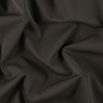 Italian Green and Brown Blended Virgin Wool Stretch Suiting