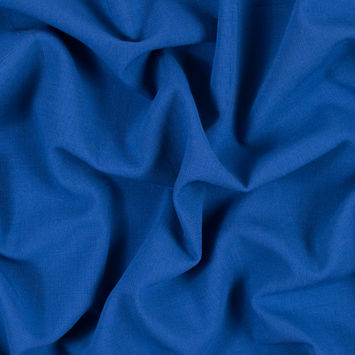 Limoges Blue Stretch Polyester Double Cloth